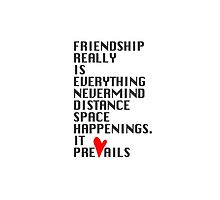 FRIENDSHIP by theurbanepoet