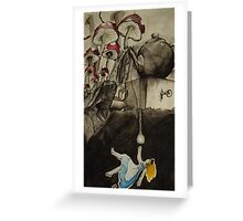 Alice in Nowhere Land Greeting Card