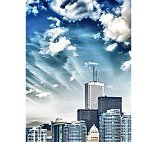 City Buildings Photographic Print