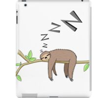 Sleeping sloth iPad Case/Skin