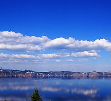 North Rim Of Crater Lake by Matt Amott