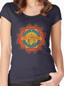 Opie and Thurston's Hot Sauce Women's Fitted Scoop T-Shirt