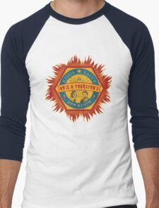 Opie and Thurston's Hot Sauce Men's Baseball ¾ T-Shirt