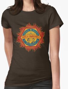 Opie and Thurston's Hot Sauce Womens Fitted T-Shirt