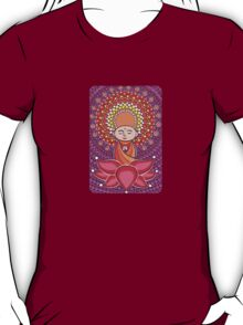 Jizo Meditating upon a Ruby Lotus T-Shirt