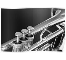 Trumpet close up Poster