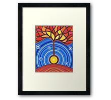 Banjo Harmonic Energy Framed Print