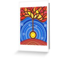 Banjo Harmonic Energy Greeting Card