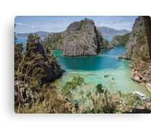 Postcard from Coron Island Canvas Print