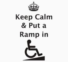 Keep Calm & Put a Ramp in T-Shirt