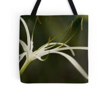 Droplets on Orchid Tote Bag