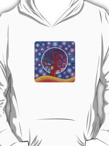 moontime illuminated orb tree T-Shirt