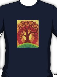 Autumn Illuminated Tree T-Shirt