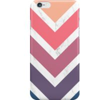 Faded arrows marble iPhone Case/Skin