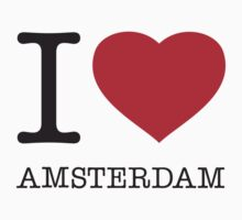 I ♥ AMSTERDAM T-Shirt