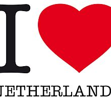 I ♥ NETHERLANDS by eyesblau