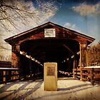 Perrines Covered Bridge by PineSinger