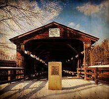 Perrines Covered Bridge by PineSinger