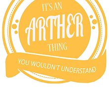 It's an ARTHER thing! by jackiepham