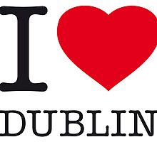 I ♥ DUBLIN by eyesblau