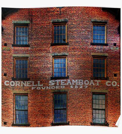 Cornell Steamboat Company Poster