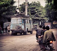 Bus About Burma by RoamingRoan