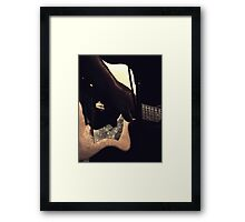 Grim Fawkner  Framed Print