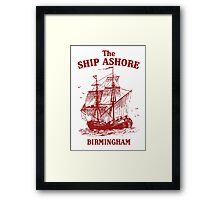 The Ship Ashore, Birmingham Framed Print