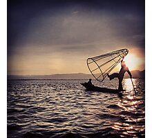 The Fisherman Photographic Print