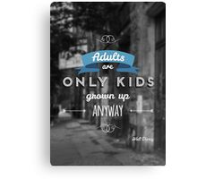 Disney - Quote Canvas Print
