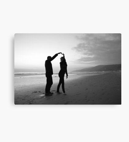 Beach // Love // Dance Canvas Print