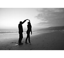Beach // Love // Dance Photographic Print