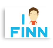 I love Finn Canvas Print