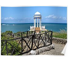 Art Deco lookout point..  Poster