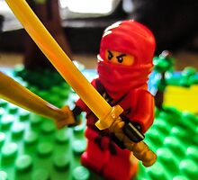 Red Ninja by sycoticatalyst