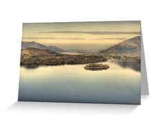 Derwentwater From Surprise View Greeting Card