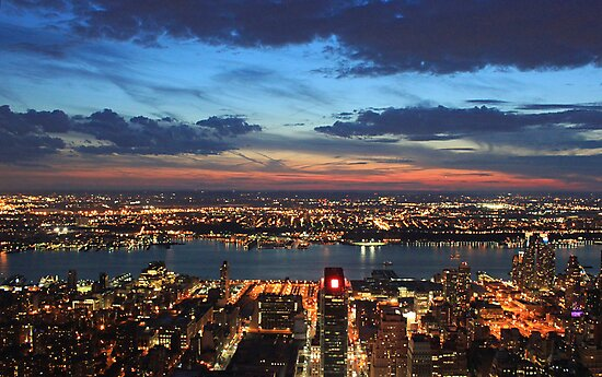 New York Evening by AnnieS123