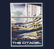 Citadel Tourism Tee: Mass Effect by ibleedrainbows
