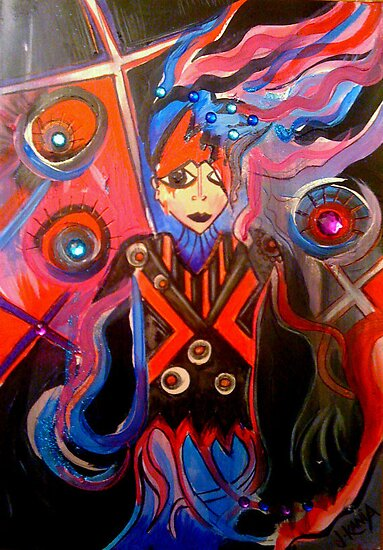 Entangled Illustration by jonkania