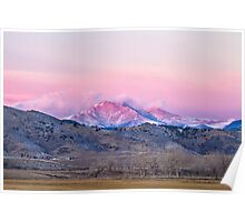 December 16th Twin Peak Sunrise View Poster