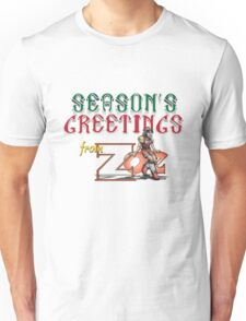 Season's Greetings from Zoe Unisex T-Shirt