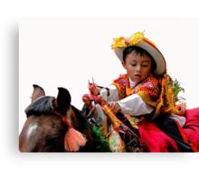 Cuenca Kids 378 Canvas Print