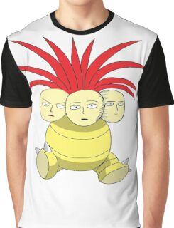 Saitama Faces Graphic T-Shirt