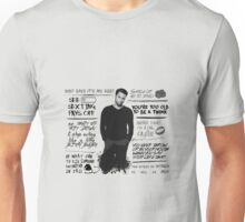 Connor Walsh + Quotes Unisex T-Shirt