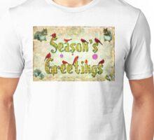 Season's Greetings Card Unisex T-Shirt