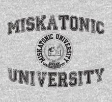 Miskatonic University (Black version) by cisnenegro