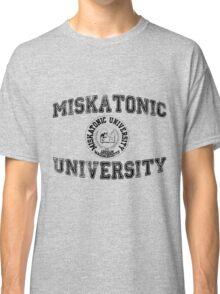 Miskatonic University (Black version) Classic T-Shirt