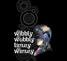 Wibbly, Wobbly, Timey, Wimey Phone by novawhitefire