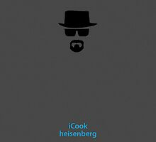 Breaking Bad Parody, Heisenberg Apple iPhone Case by jkokotoff