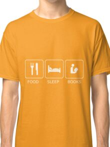 Food Sleep Books Classic T-Shirt